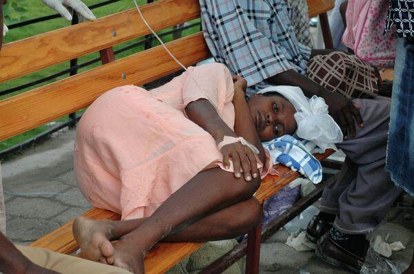 Epidemia del cólera en Haití - Sputnik Mundo