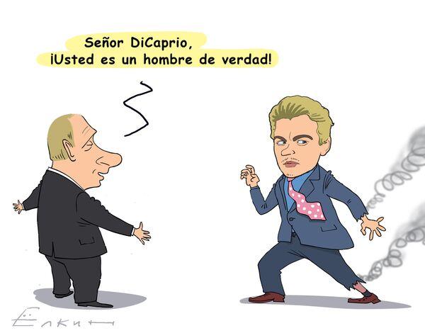Putin elogia a DiCaprio - Sputnik Mundo