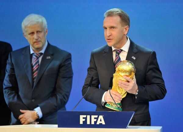 Rusia fue elegida como sede del Mundial de Fútbol de 2018 - Sputnik Mundo