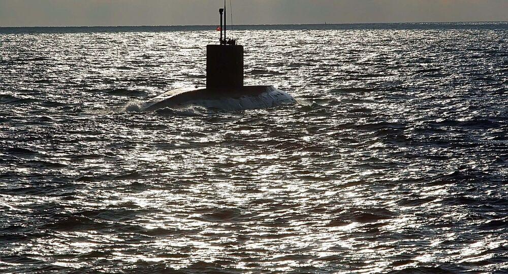 Un submarino de Rusia