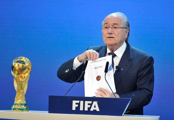 Rusia elegida sede del Mundial de Fútbol de 2018 - Sputnik Mundo