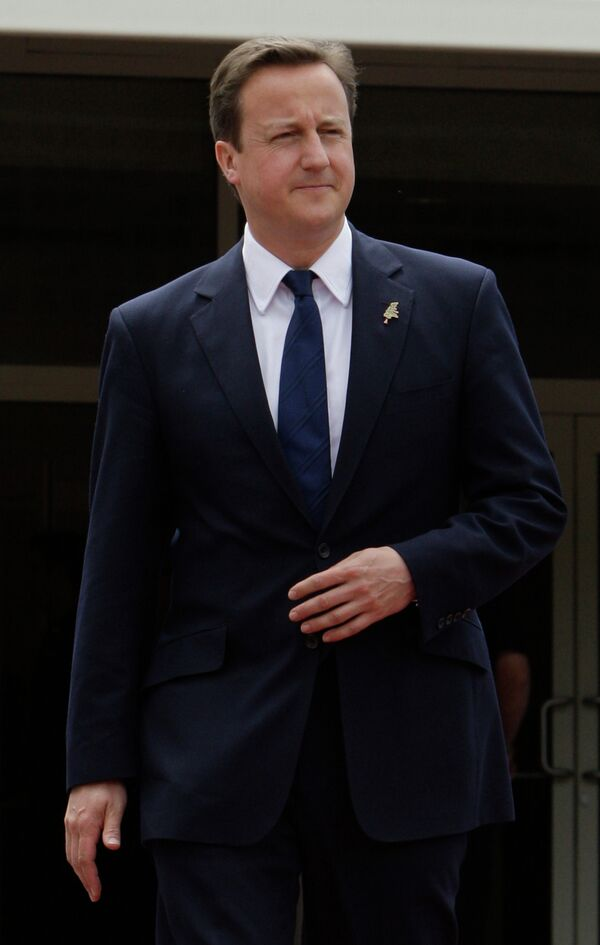 David Cameron - Sputnik Mundo