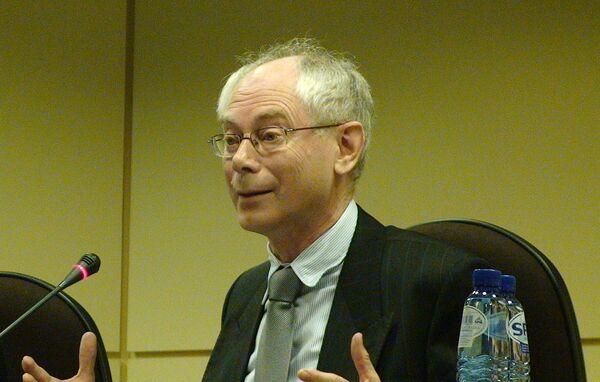 Herman Van Rompuy. Archivo - Sputnik Mundo