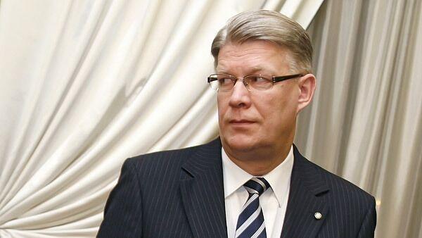 El presidente de Letonia, Valdis Zatlers - Sputnik Mundo