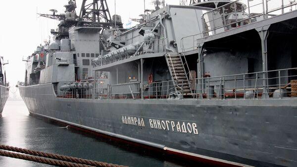 El destructor antisubmarino Almirante Vinográdov. - Sputnik Mundo