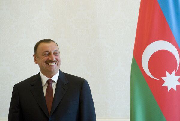 Presidente de Azerbaiyán, Ilham Ilíev - Sputnik Mundo