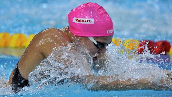 Yulia Efímova, nadadora rusa suspendida - Sputnik Mundo