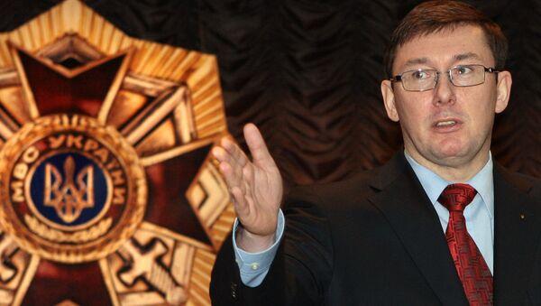 Yuri Lutsenko, fiscal general ucraniano - Sputnik Mundo