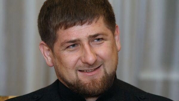 El presidente de Chechenia, Ramzán Kadírov - Sputnik Mundo