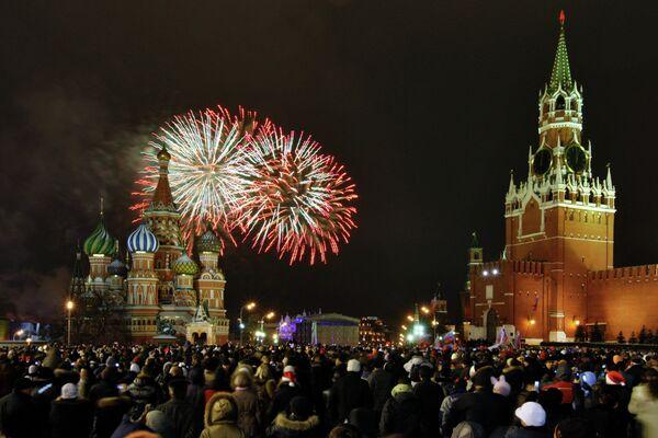 Moscovitas no podrán celebrar el Año Nuevo en la Plaza Roja - Sputnik Mundo