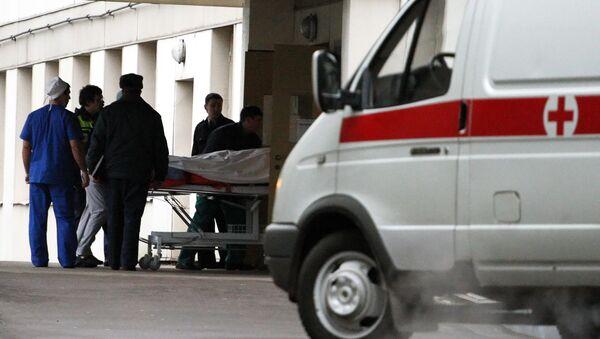 Ambulancia (Archivo) - Sputnik Mundo