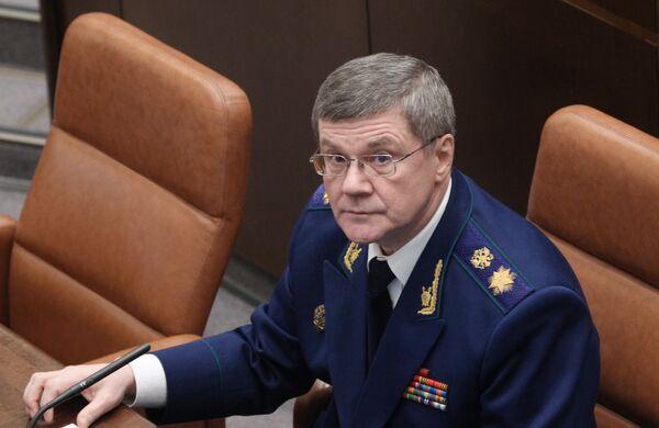 El fiscal general de Rusia Yuri Chaika - Sputnik Mundo