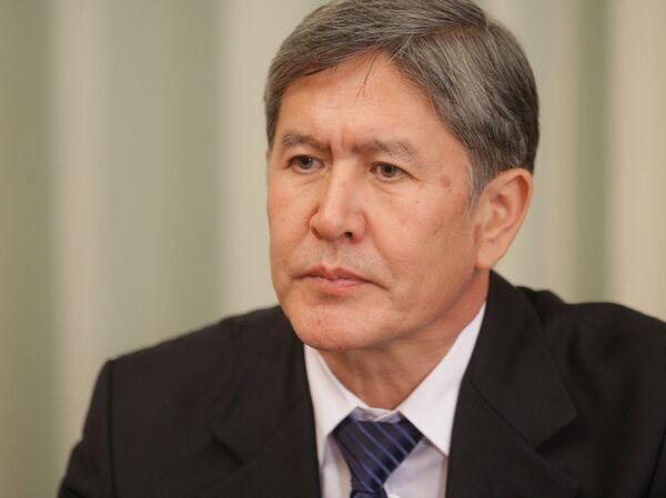 Almazbek Atambaev - Sputnik Mundo