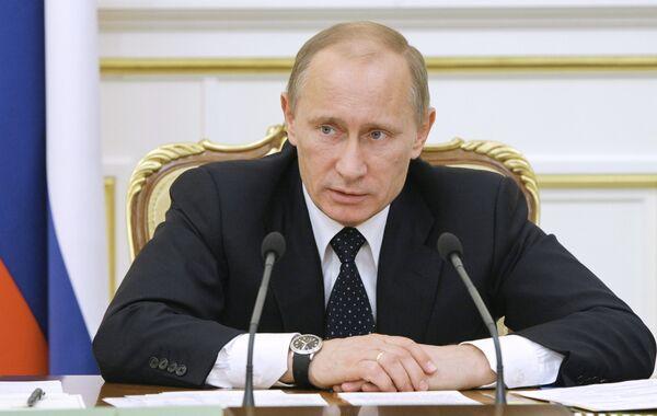 Primer ministro ruso Vladímir Putin - Sputnik Mundo