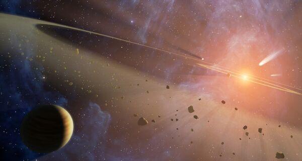 Astrónomos rusos calculan la fecha de la posible colisión del asteroide Apophis con la Tierra. Archivo. - Sputnik Mundo