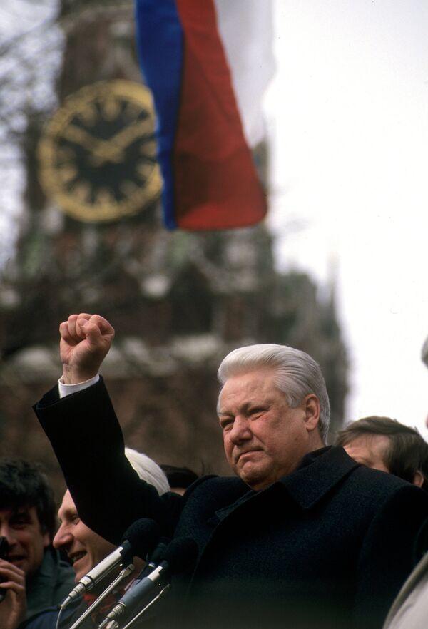 Borís Yeltsin - Sputnik Mundo