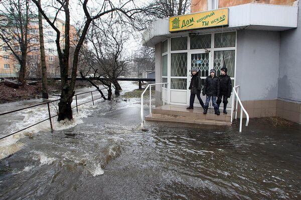 Secuelas de riadas en la ciudad rusa de Kaliningrado - Sputnik Mundo