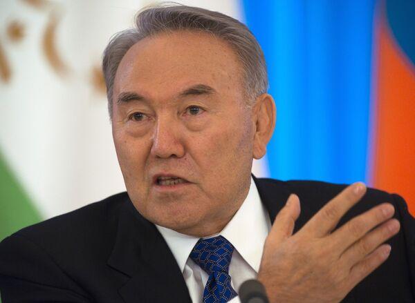 El presidente kazajo, Nursultán Nazarbáev - Sputnik Mundo