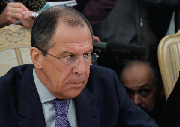 Serguei Lavrov - Sputnik Mundo