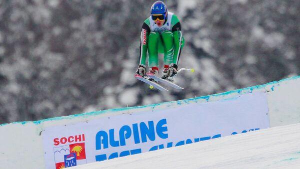 Un esquiador - Sputnik Mundo