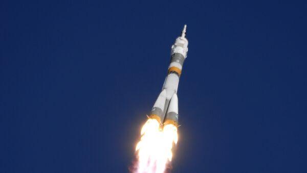 Lanzamiento de misil Soyuz-FG - Sputnik Mundo