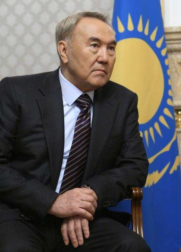 El presidente de Kazajstán Nursultán Nazarbáyev - Sputnik Mundo