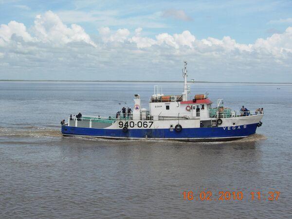 El barco pesquero Vega 5 - Sputnik Mundo