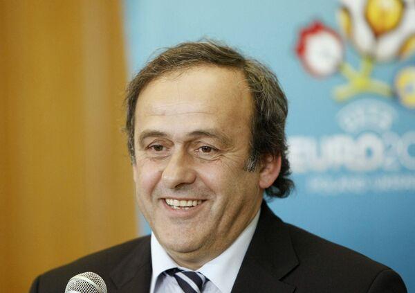 Michel Platini  - Sputnik Mundo