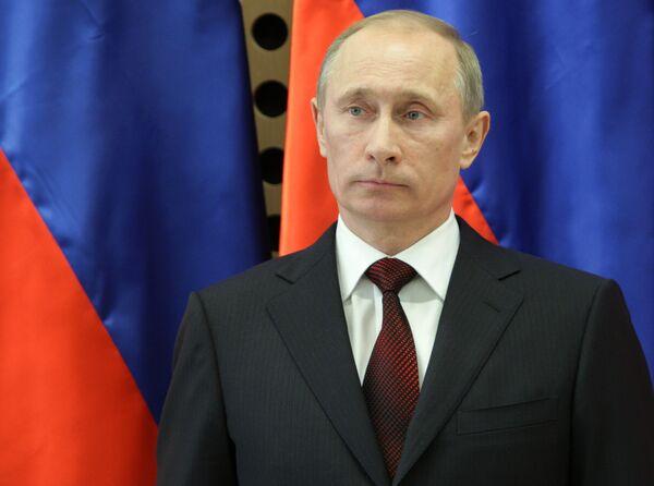 El primer ministro ruso Vladímir Putin - Sputnik Mundo
