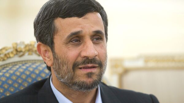Mahmud Ahmadineyad, expresidente de Irán (archivo) - Sputnik Mundo