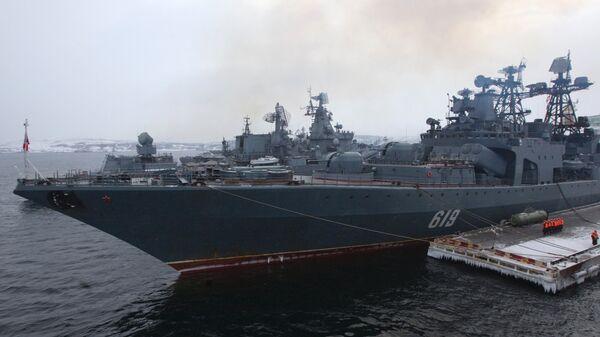 Военные учения Северного флота ВМФ России - Sputnik Mundo