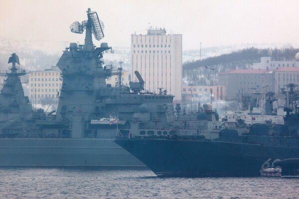 Buques de la Armada rusa parten al Golfo de Adén para la misión antipiratería - Sputnik Mundo
