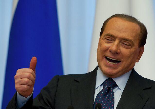 Silvio Berlusconi, ex primer ministro de Italia