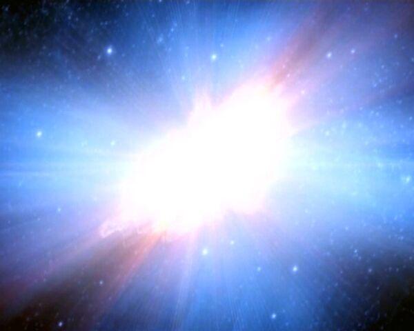 La NASA capta una de las explosiones cósmicas más poderosas en el Universo - Sputnik Mundo