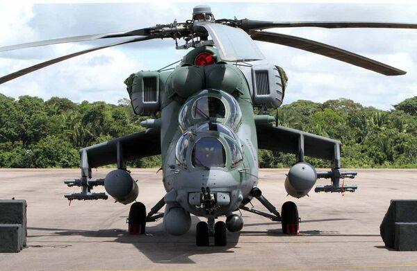 Helicóptero militar ruso Mi-35M - Sputnik Mundo