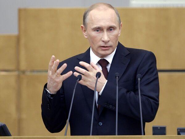 Putin rinde cuentas sobre la gestión del Gobierno en 2010 ante el parlamento ruso - Sputnik Mundo