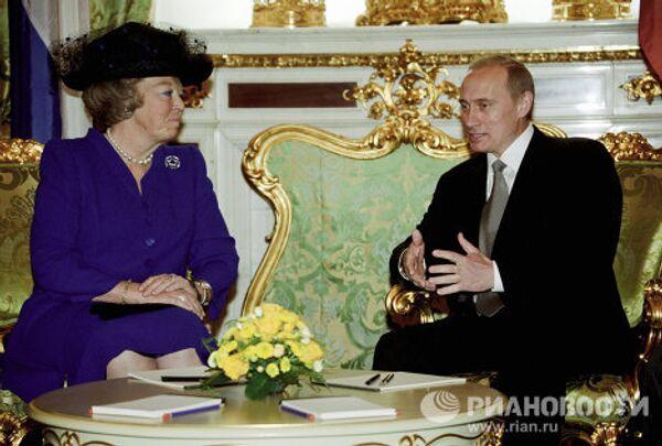 Vladímir Putin y Altezas Reales - Sputnik Mundo