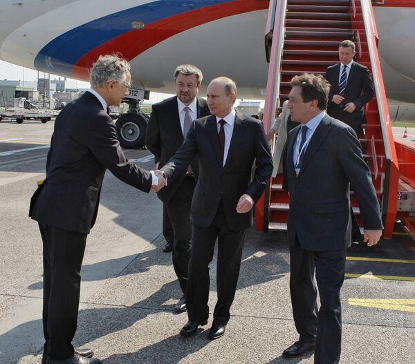 Vladímir Putin llega en visita de un día a Dinamarca - Sputnik Mundo