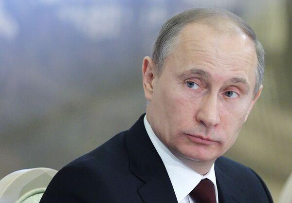Vladímir Putin, primer ministro y candidato a la presidencia de Rusia - Sputnik Mundo
