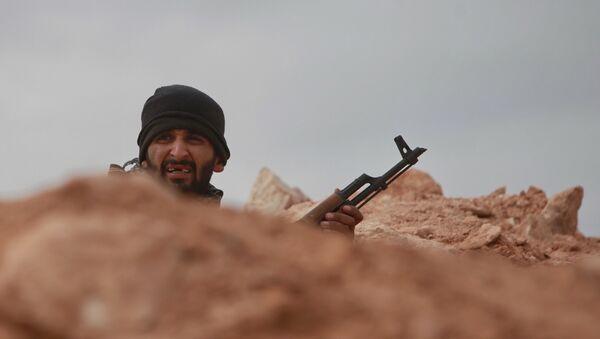 Soldado libio - Sputnik Mundo