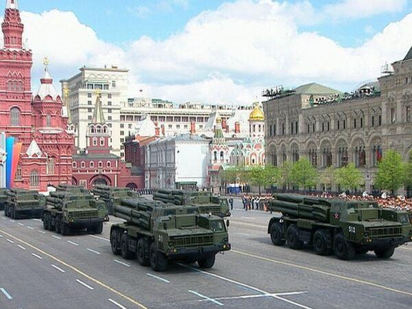 Rusia exhibe su poderío militar en la Plaza Roja - Sputnik Mundo