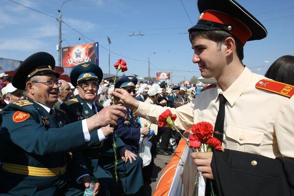 Al menos tres millones de moscovias asistieron a las actividades del Día de la Victoria - Sputnik Mundo