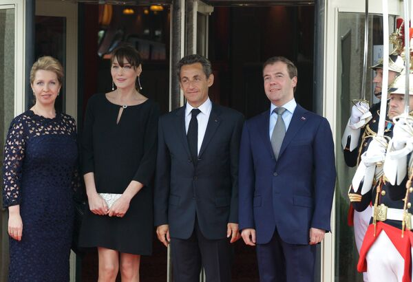 Cumbre del Grupo de los Ocho en Deauville - Sputnik Mundo