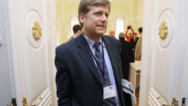 Майкл Макфол - Sputnik Mundo