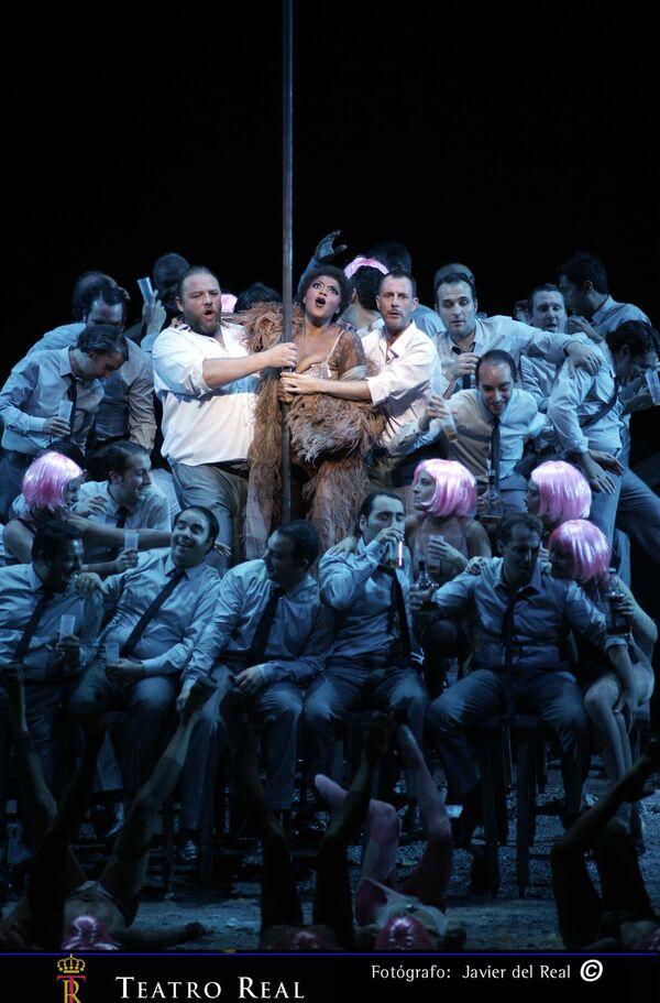 "La ópera ""Ascenso y caída de la ciudad de Mahagonny"" - Sputnik Mundo"
