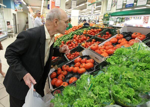 Rusia estudia desembargar por completo importación de verduras europeas - Sputnik Mundo