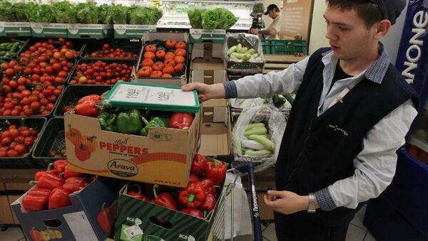 El Servicio de Protección al Consumidor de Rusia (Rospotrebnadzor) prohibió temporalmente las importaciones de hortalizas frescas de la Unión Europea - Sputnik Mundo