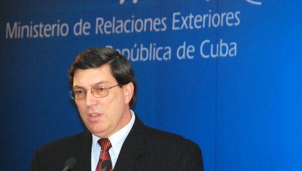 Bruno Rodríguez, ministro de Relaciones Exteriores de Cuba (archivo) - Sputnik Mundo
