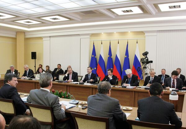 La cumbre Rusia-Unión Europea versó sobre la crisis del pepino, la supresión de visados y el ingreso a la OMC - Sputnik Mundo