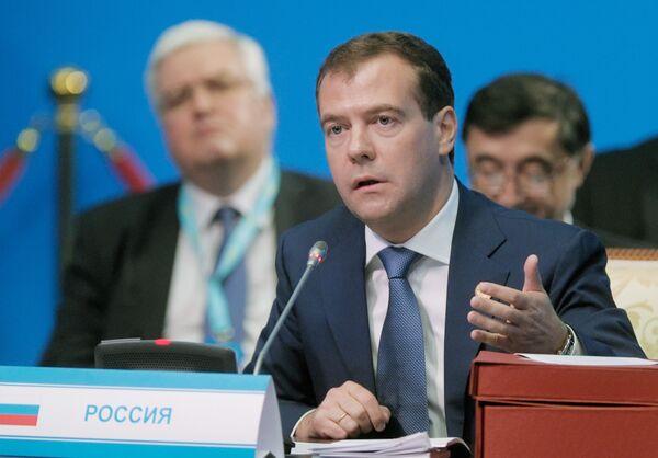 El presidente de Rusia, Dmitri Medvédev - Sputnik Mundo